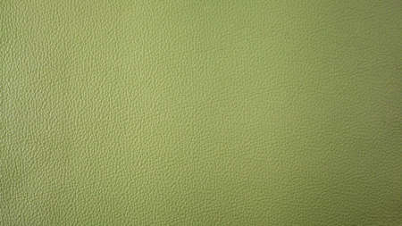 Genuine green cattle leather texture background. Macro photo Stock Photo