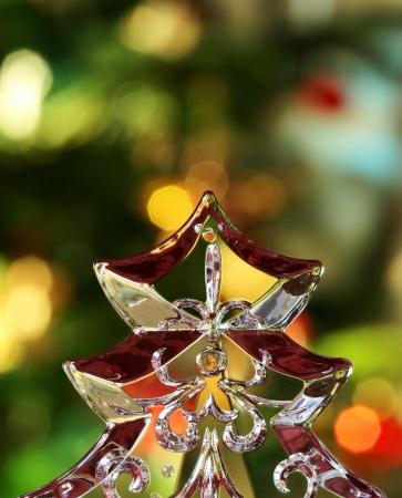 Transparent Christmas Tree Standard-Bild - 14484013