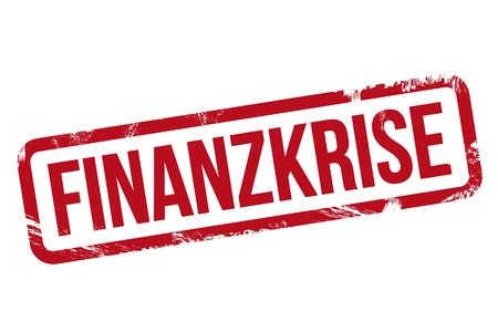 stempel: Finanzkrise - Stempel