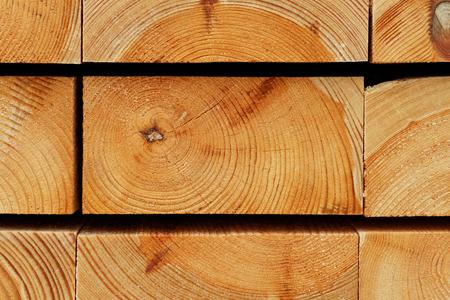 Holz Hintergrund: Jahresringe Textur von Aufgehaldeter Pine Bauplatten Standard-Bild - 73418565