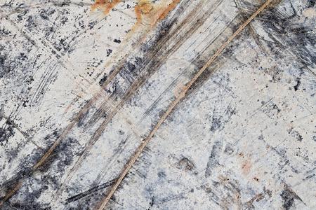 Abstrakte Textur Zerkratzt auf Spanplatte I Standard-Bild - 75001384
