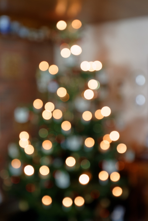 Blurred Background Concept Abstract Christmas Tree I