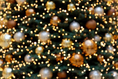 Bokeh Background Christmas Tree Decoration II