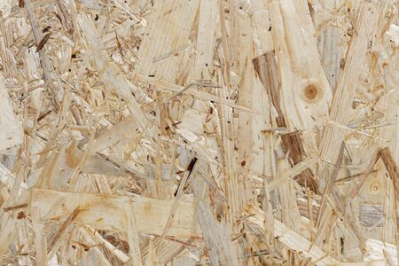 Wood texture - OSB board background Standard-Bild