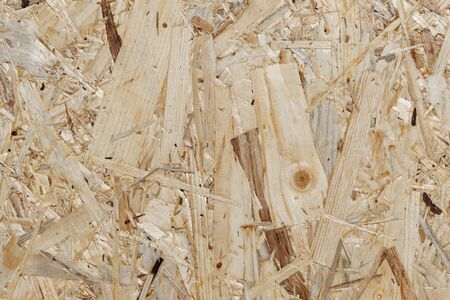 OSB Construction Wood Background - detail