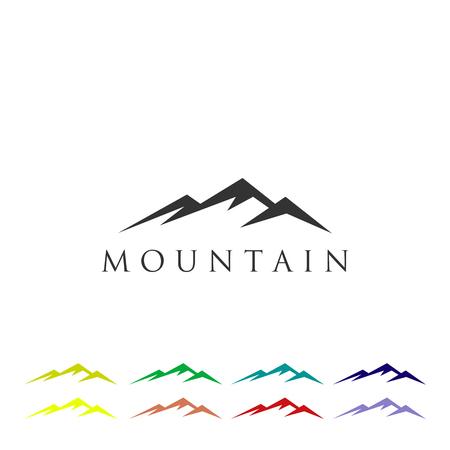 Mountain Logo Icon Vector Template Illustration