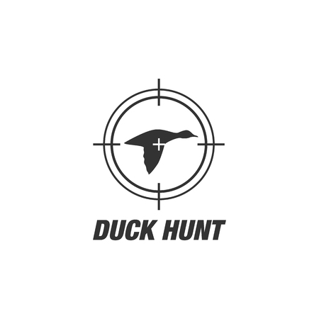 Duck hunt shooting club logo patches