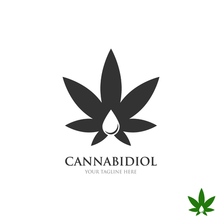 medical Cannabis Business Logo Concept