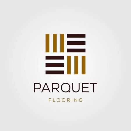 minimalist parquet flooring vinyl hardwood granite tile logo Logo