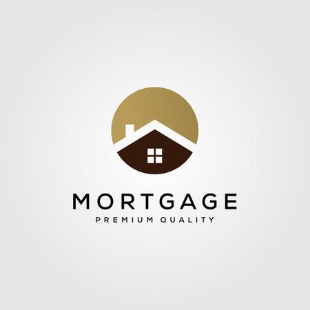 house building real estate symbol vector illustration design Illusztráció