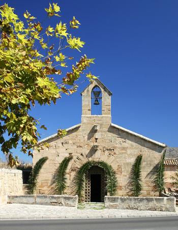familiar: Small church in Alcudia (Mallorca, Spain)