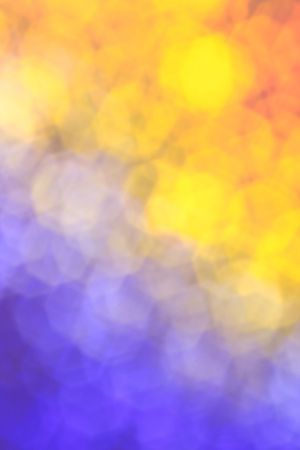 Night and day - blue and yellow background  photo