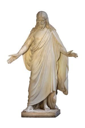 Jesus isolated on white  Stock Photo - 2159579