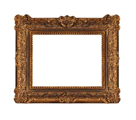 Beautiful old wooden frame photo
