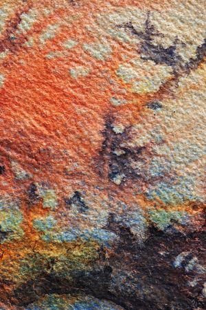 splotches: Abstract watercolor background with red an black splotches