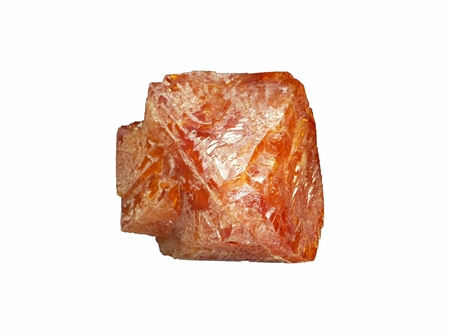 Scheelite (a calcium tungstate mineral) from Pingwu mine, Sichuan Province, China Stock Photo