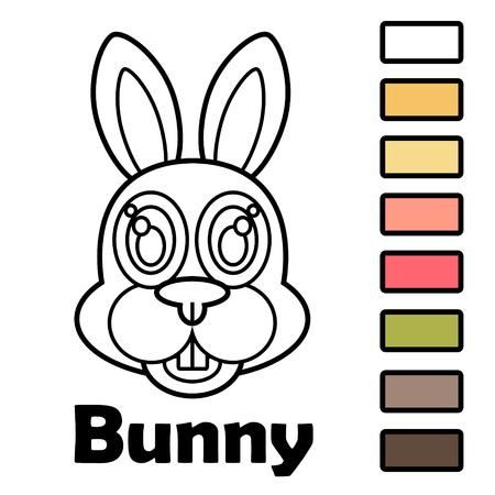 Libro De Colorear Para Niños Pequeños Con Animales - Panda. Usando ...