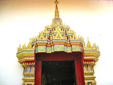 A Thai Temple Door
