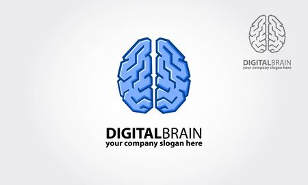 Digital Brain logo is a professional logo for your company. The main idea is to show the way the company stands out to a creative process, small business, agencies, consultants, and startup business.