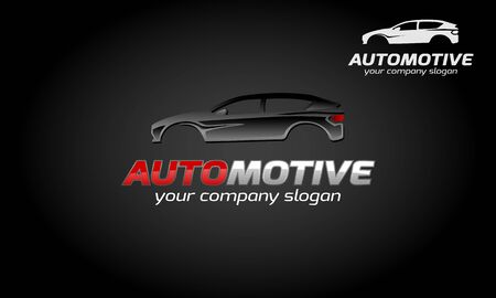 Automotive Vector Logo Template. A modern and sporty logo.