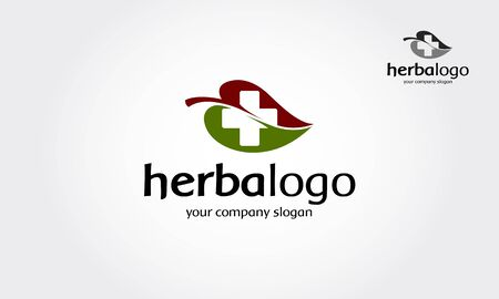 Herbal Vector Logo Template. This is an excellent logo for your company. A clean and simple leaf pattern logo for any eco, environmental, energy, nature, food, organic, farming or health company.