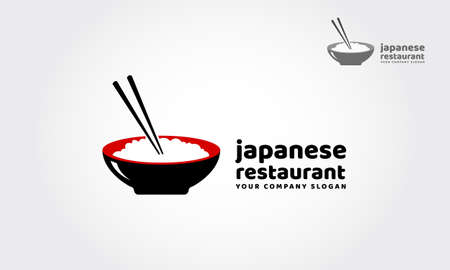 Japanese restaurant is a multipurpose logo template, can be used in any companies related to asian food, rice, fast food, restaurants etc. Vectores