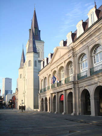 Jackson Square in the morning, New Orleans