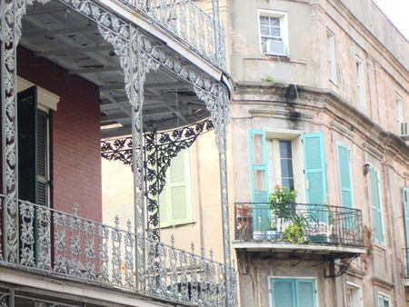 Lace Balconies, New Orleans, Louisiana