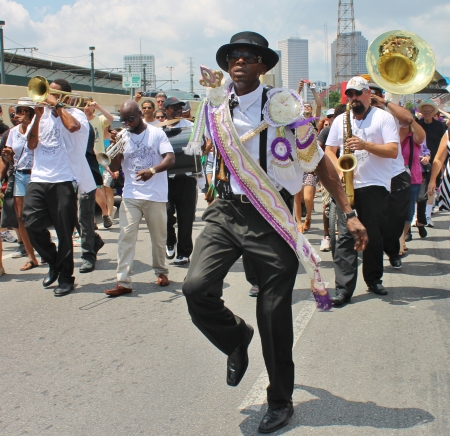 Second Line Parade, New Orleans, LA