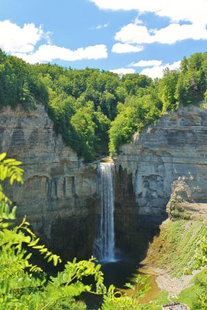 Taughannock Falls, NY Stock Photo