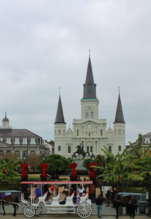 Saint Louis Cathedral Editorial