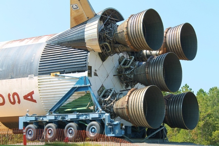 Apollo Booster Rocket