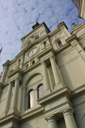 Saint Louis Cathedral, New Orleans Stock Photo