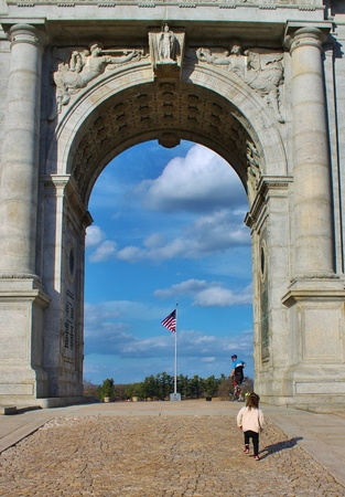 forge: National Memorial Arch at Valley Forge