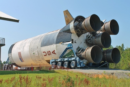 Rocket Booster Stock Photo