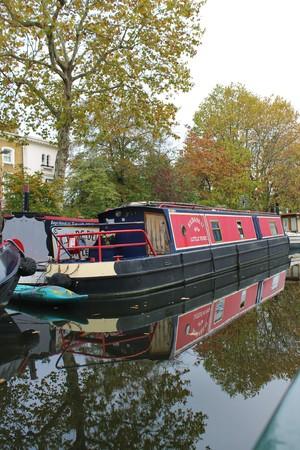 Longboats, Little Venice, London