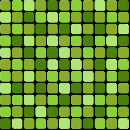 Seamless pattern of green pile