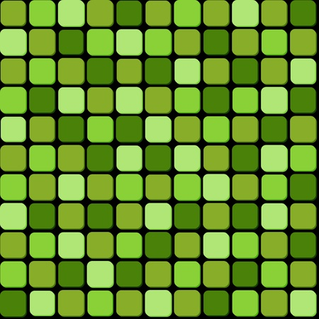 Seamless pattern of green pile