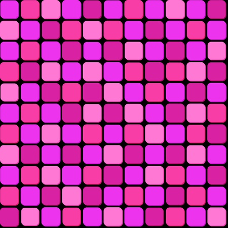 Seamless pattern of pink pile