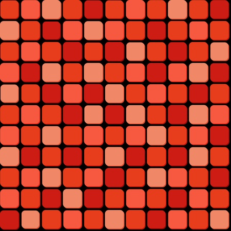 tiling: Seamless pattern of red pile Illustration