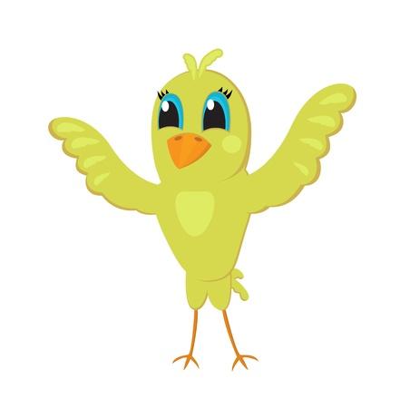 Netter kleiner Vogel Standard-Bild - 12918084