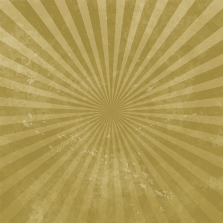 Abstract grunge background with radial stripes