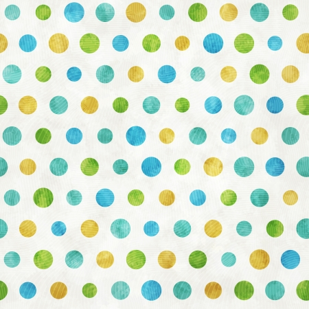 Seamless pattern with painted color circles Vector