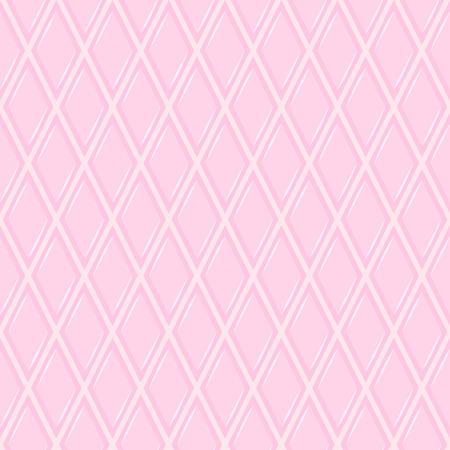 rhomb: Seamless geometric pattern with pink rhombs Illustration