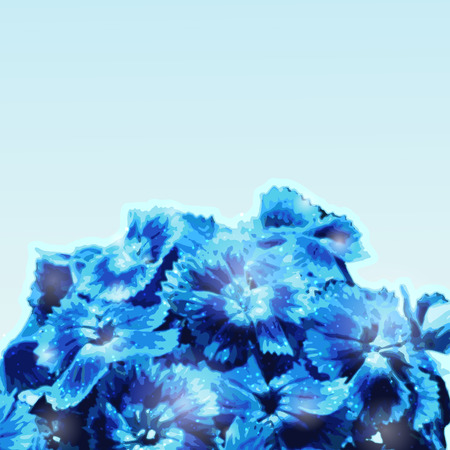 gently blue: Background with blue flowers bouquet