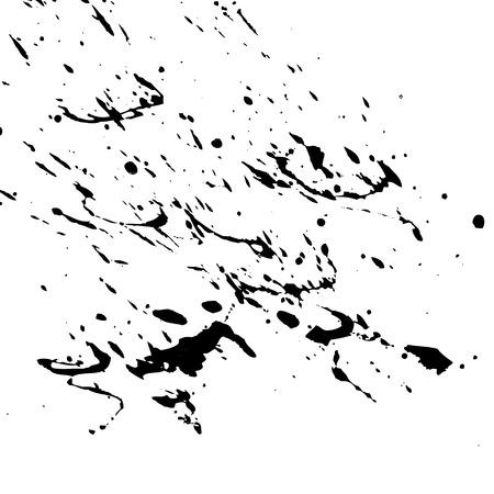 Black splash Vector illustration. Illustration