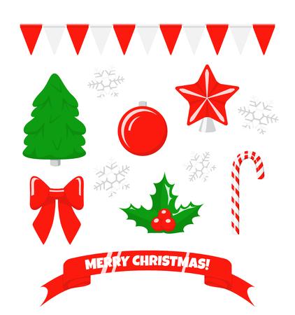 Christmas set Фото со стока - 117751890