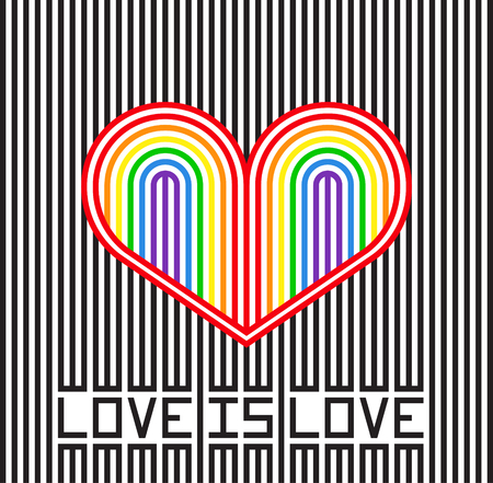 Love is love Фото со стока - 117751893