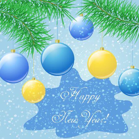 Happy New Year Çizim