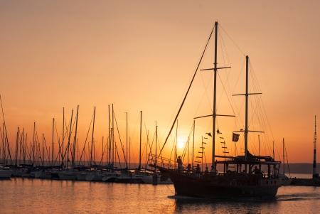 sunup: Sunset Stock Photo